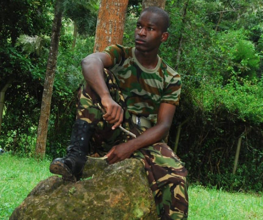 Patrick Juma is the soldier who is dismantling stereotypes about men in uniform