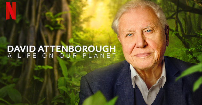 David Attenborough, a life on our planet