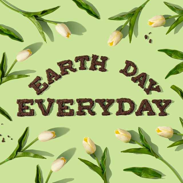 Earth day: Be the change