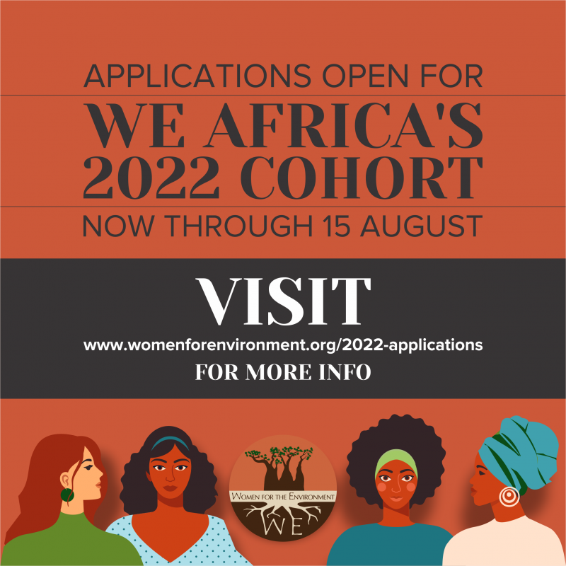 Applications for WE Africa